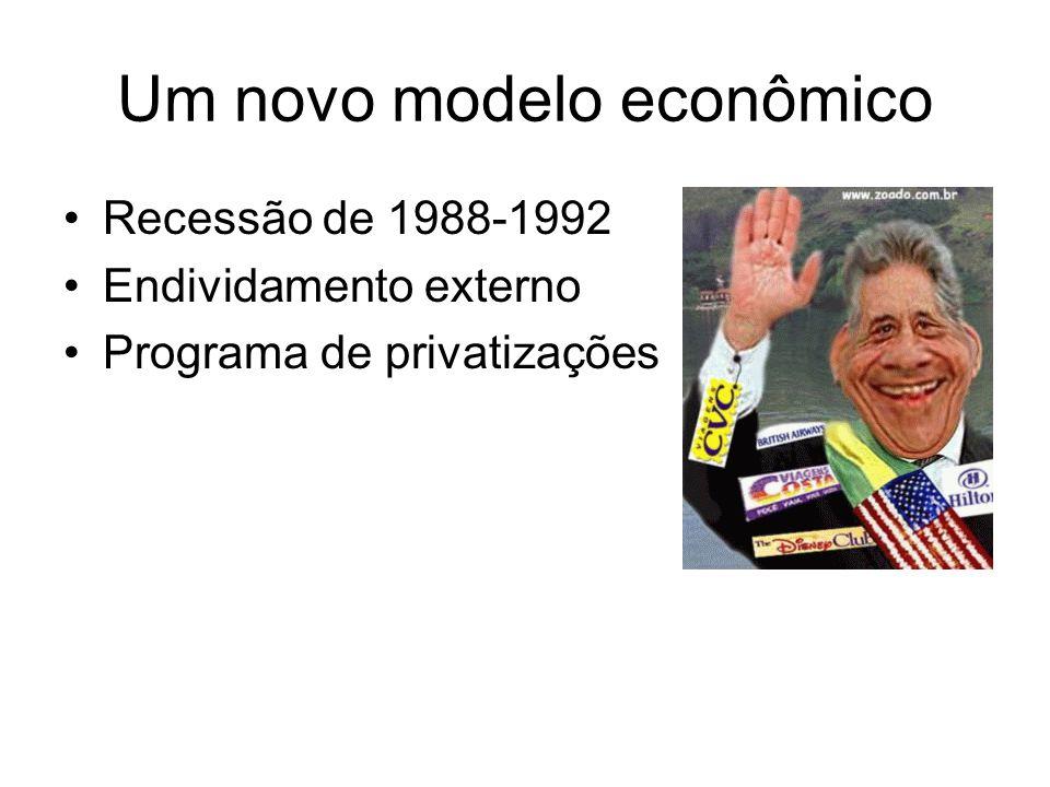 Um novo modelo econômico
