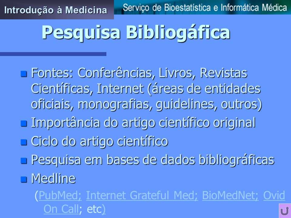 Pesquisa Bibliogáfica