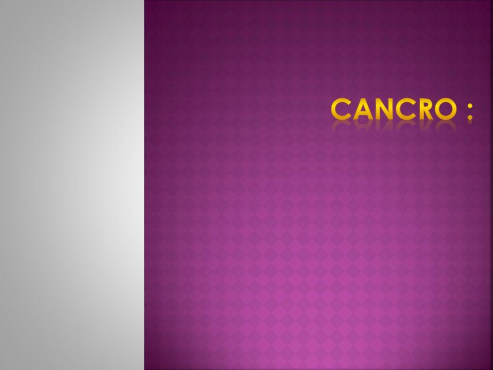 Cancro :