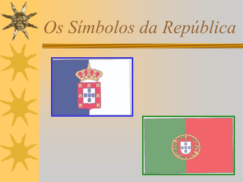 Os Símbolos da República