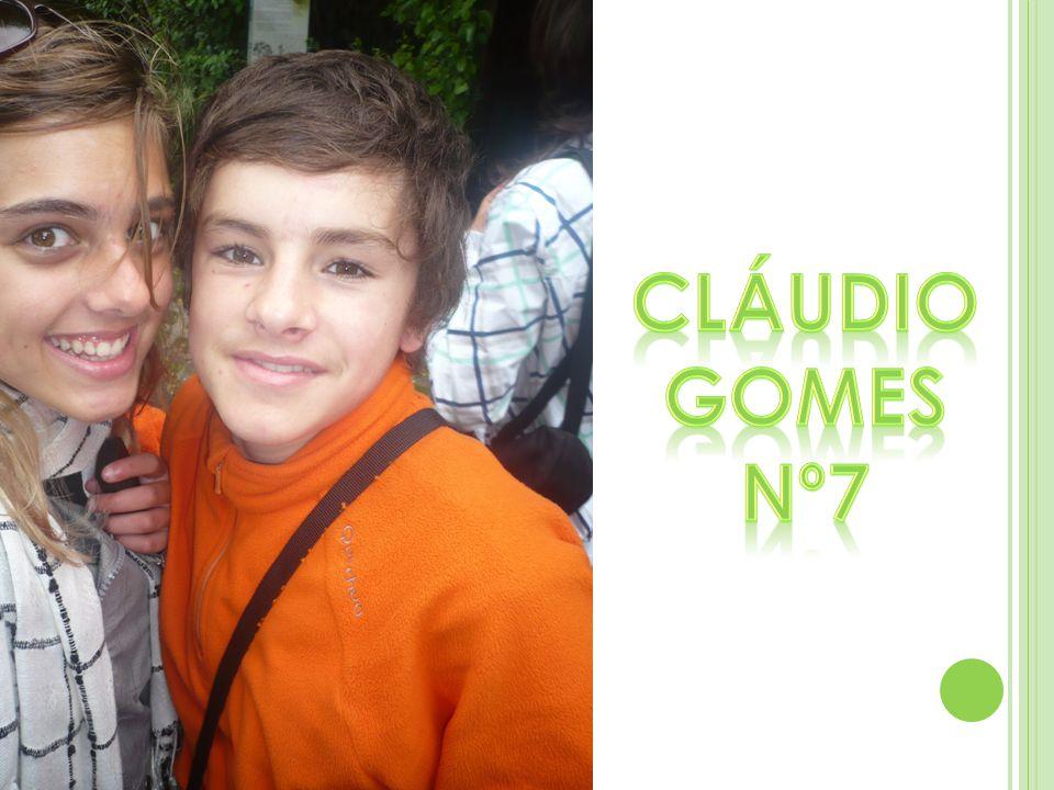 Cláudio Gomes Nº7