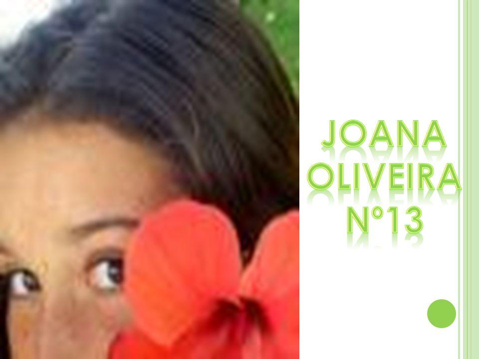 Joana Oliveira Nº13