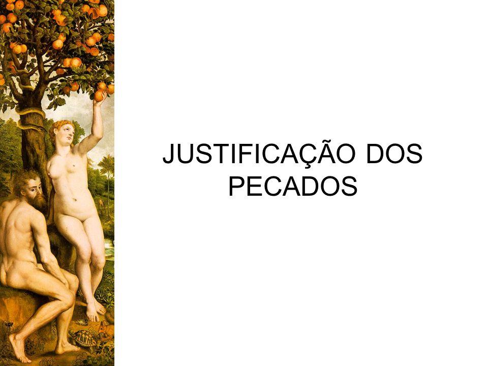 JUSTIFICAÇÃO DOS PECADOS