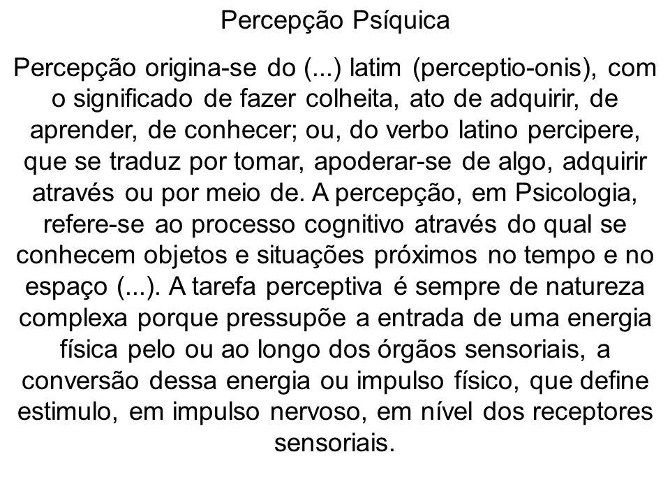 Percepção Psíquica