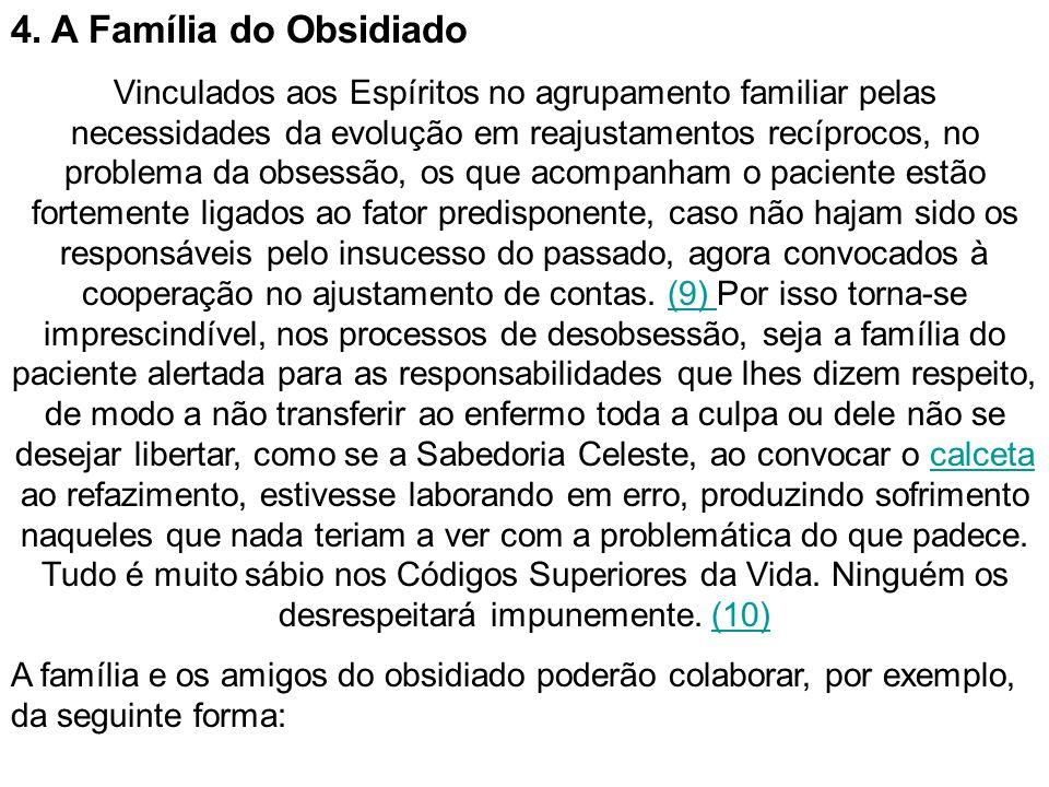 4. A Família do Obsidiado