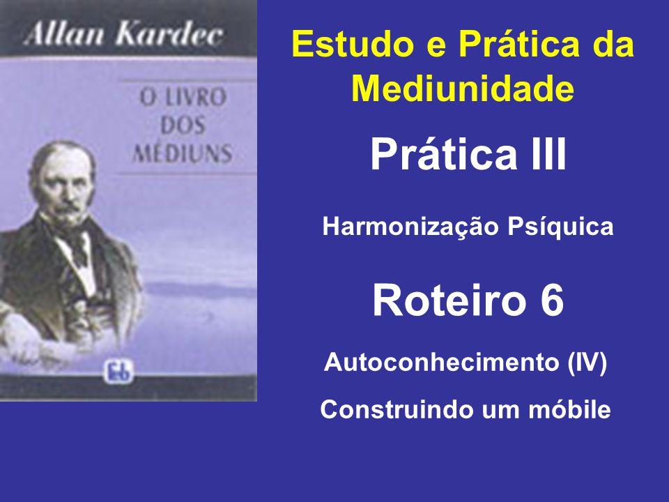 Prática III Roteiro 6 Estudo e Prática da Mediunidade