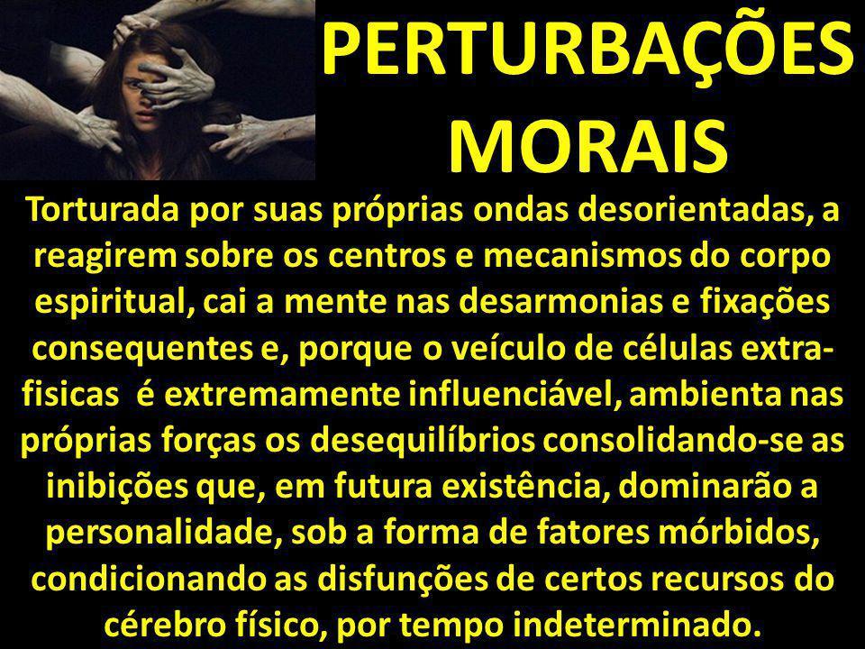 PERTURBAÇÕES MORAIS