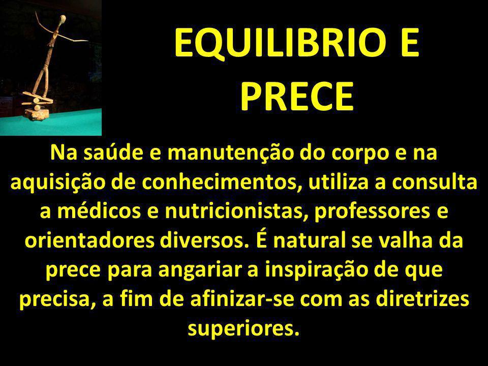 EQUILIBRIO E PRECE
