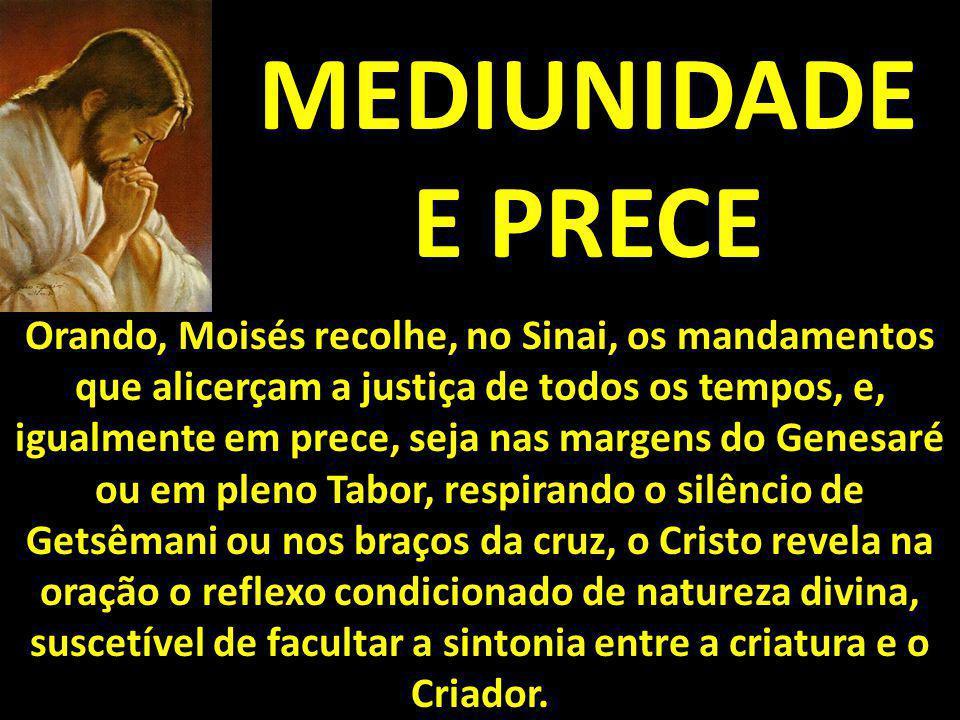 MEDIUNIDADE E PRECE