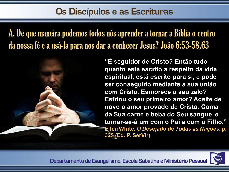 É seguidor de Cristo.