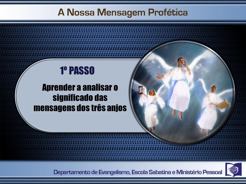 Aprender a analisar o significado das mensagens dos três anjos