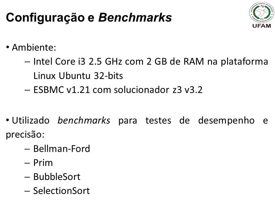 Configuração e Benchmarks