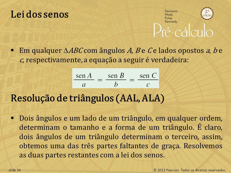 Resolução de triângulos (AAL, ALA)