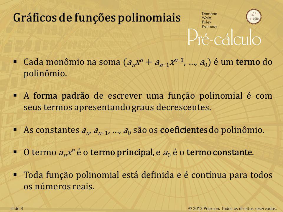 Gráficos de funções polinomiais