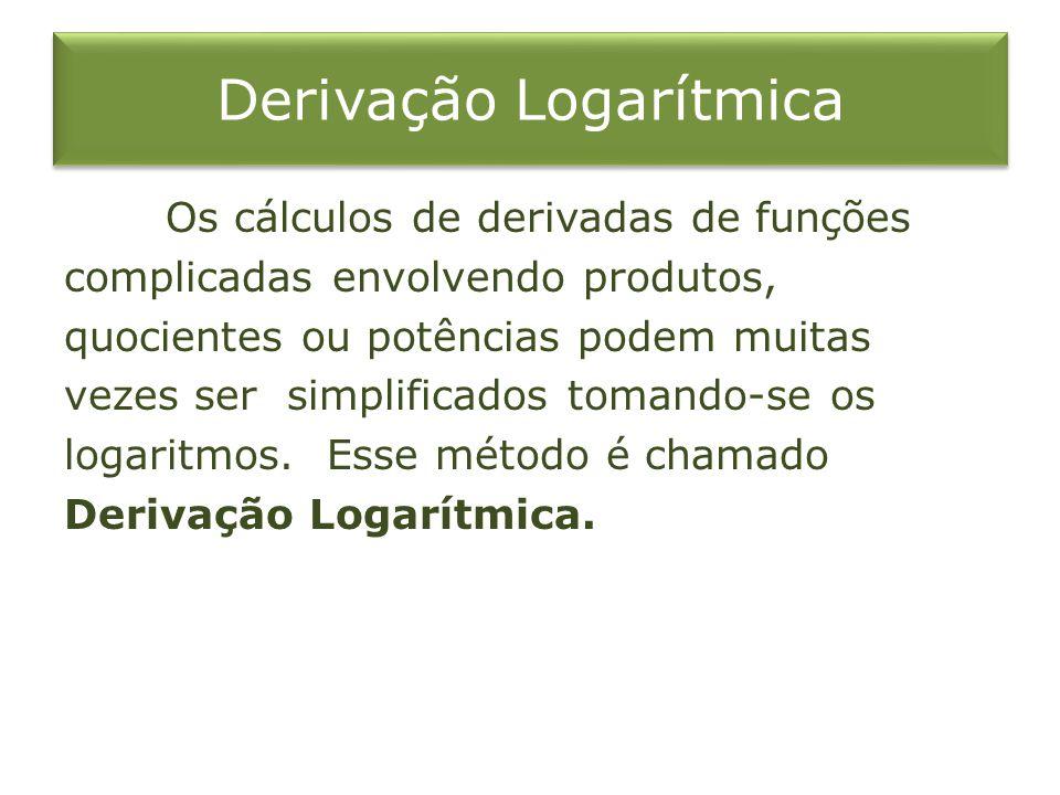 Derivação Logarítmica