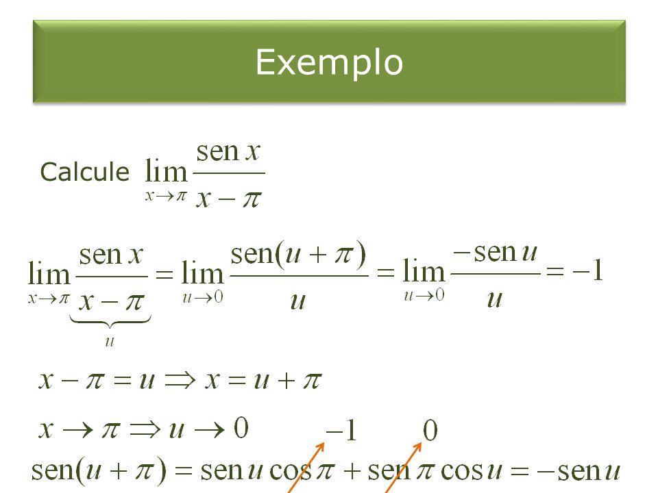 Exemplo Calcule