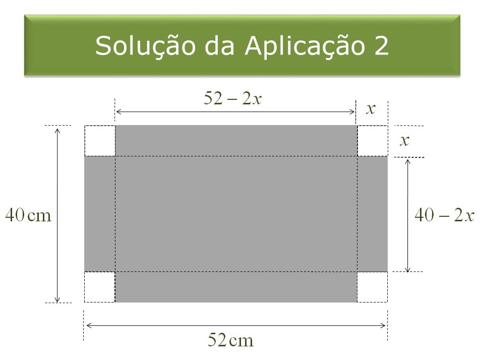 Solução da Aplicação 2