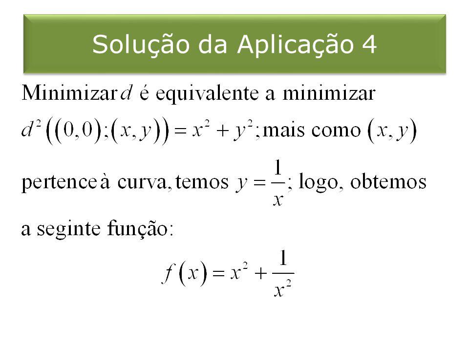 Solução da Aplicação 4