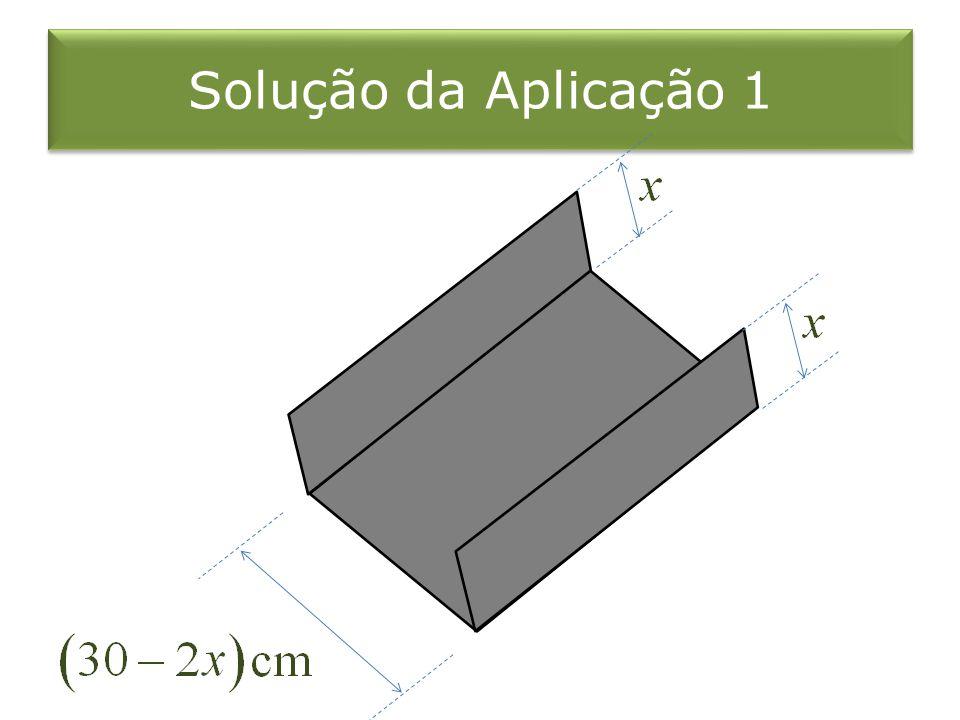 Solução da Aplicação 1
