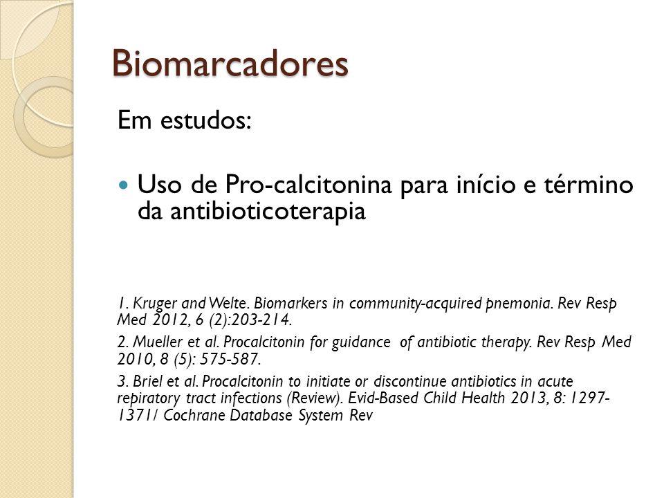 Biomarcadores Em estudos: