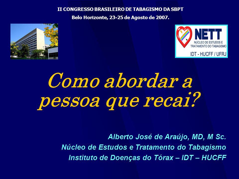 Alberto José de Araújo, MD, M Sc.