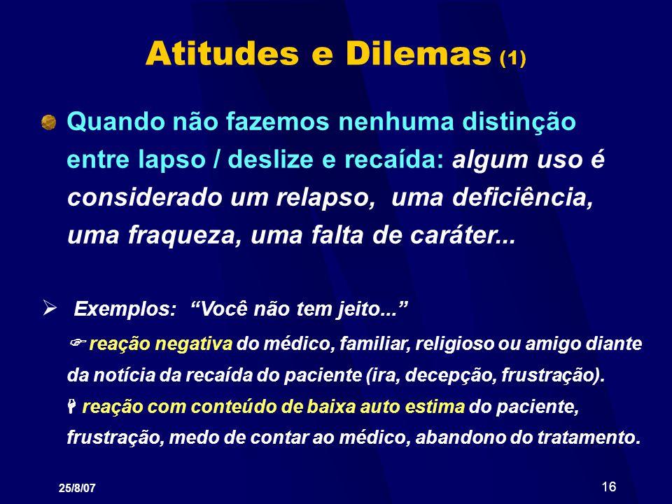 Atitudes e Dilemas (1)