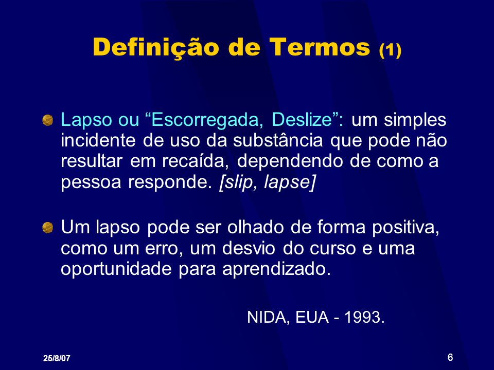 Definição de Termos (1)