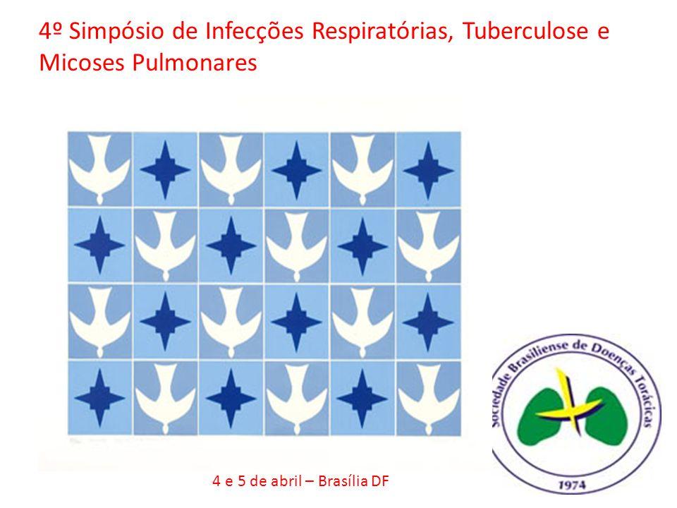 4º Simpósio de Infecções Respiratórias, Tuberculose e Micoses Pulmonares
