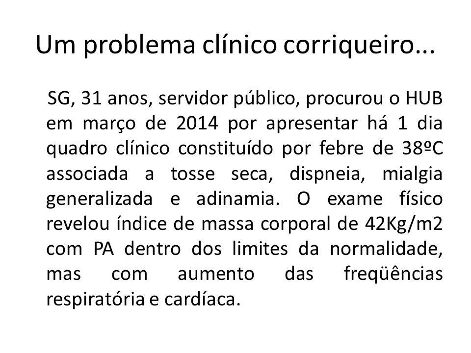 Um problema clínico corriqueiro...