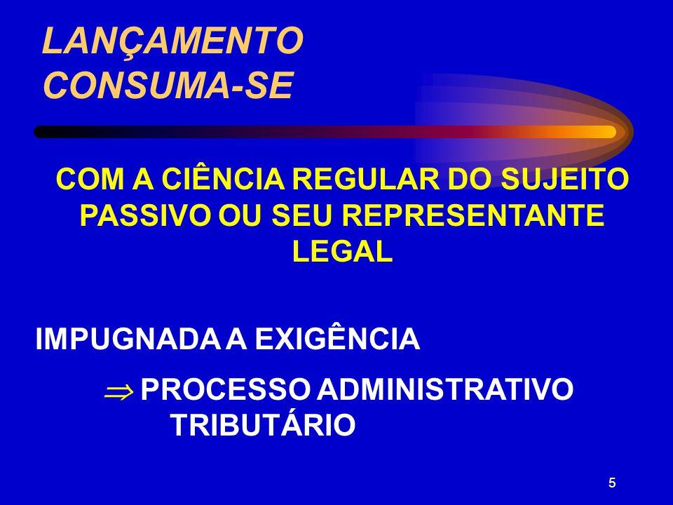LANÇAMENTO CONSUMA-SE