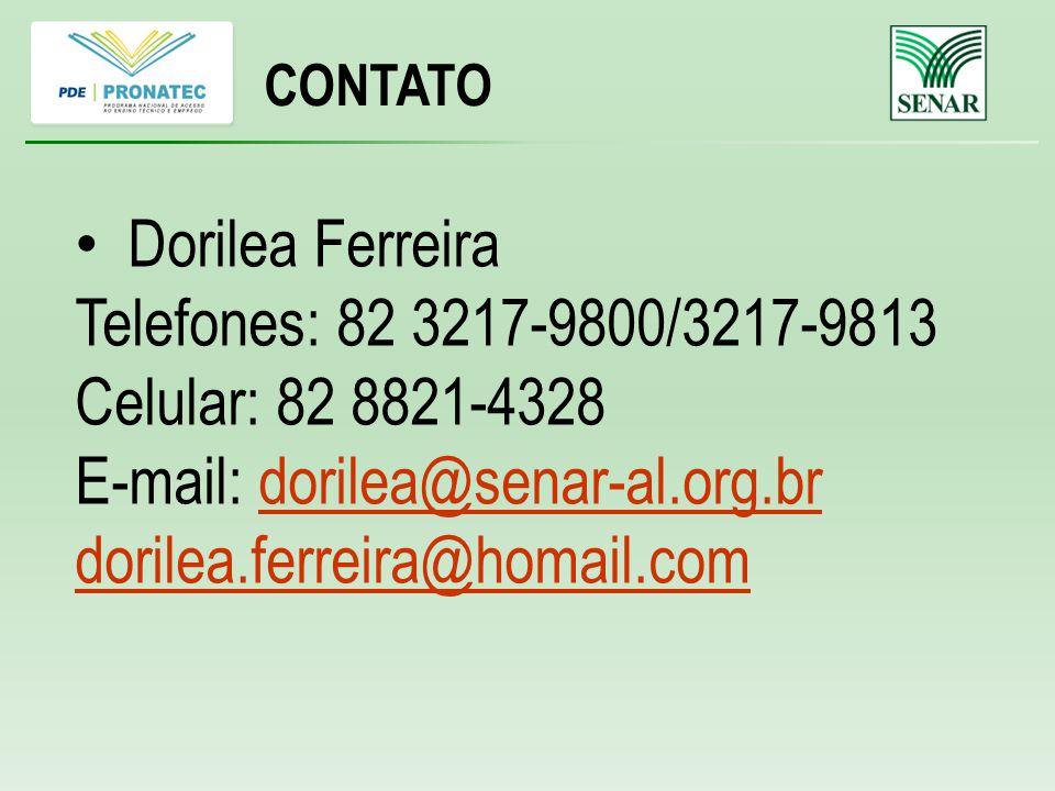 E-mail: dorilea@senar-al.org.br dorilea.ferreira@homail.com