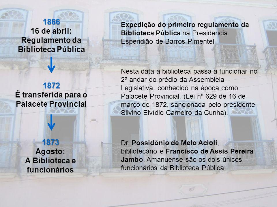Regulamento da Biblioteca Pública