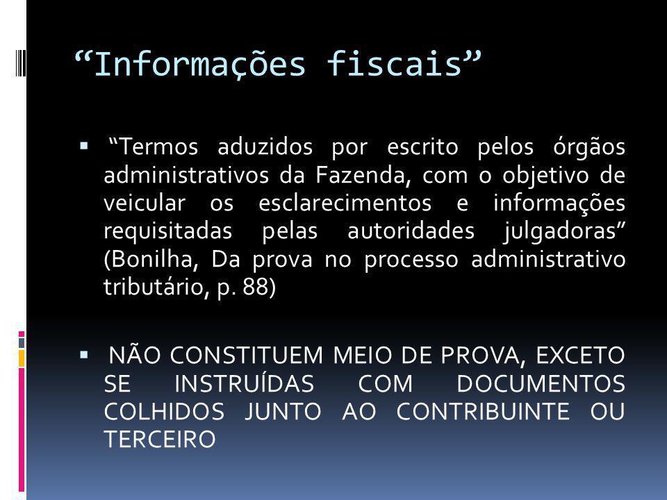 Informações fiscais