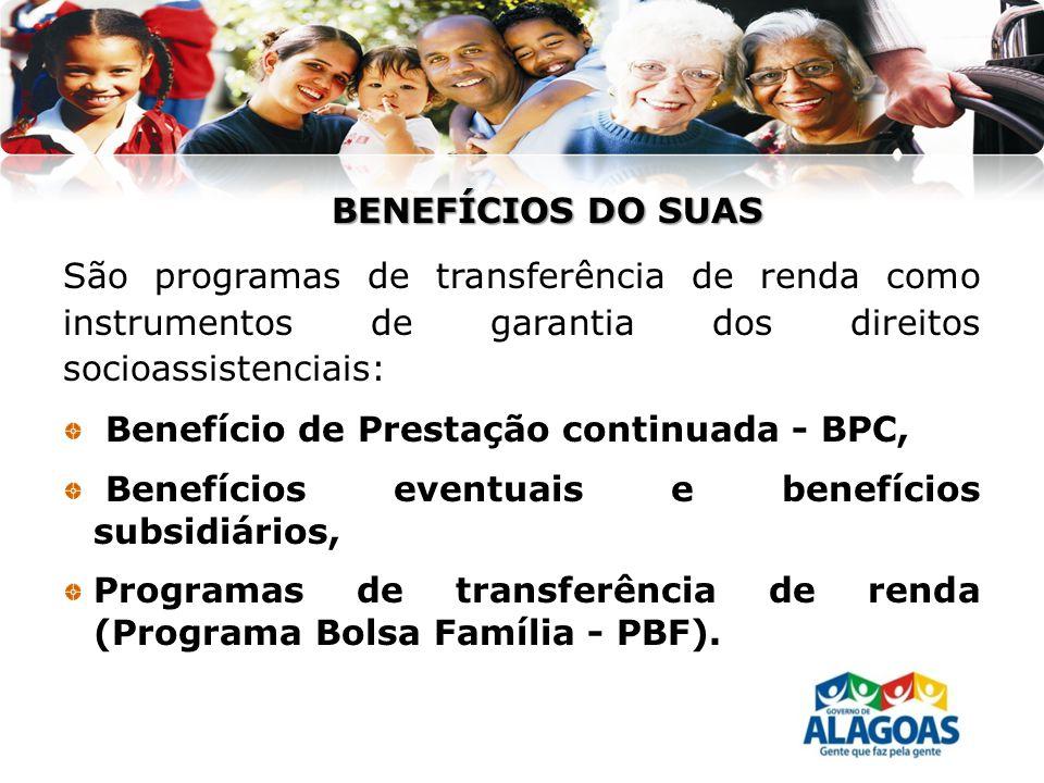 Benefício de Prestação continuada - BPC,