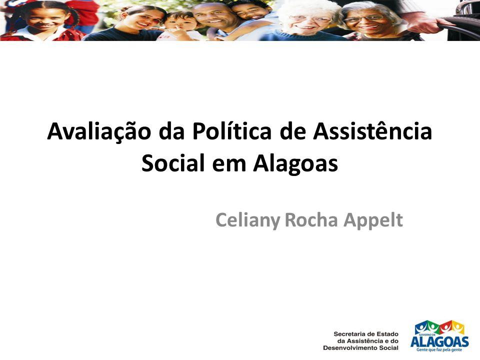 Avaliação da Política de Assistência Social em Alagoas