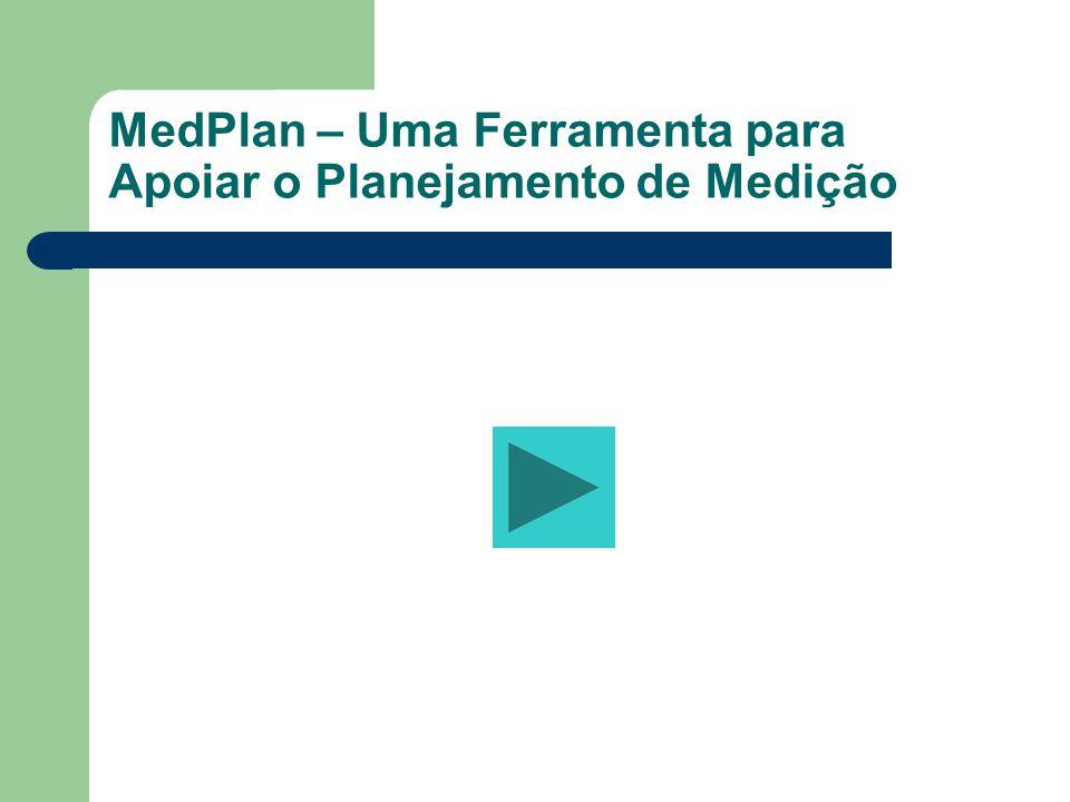 MedPlan – Uma Ferramenta para Apoiar o Planejamento de Medição