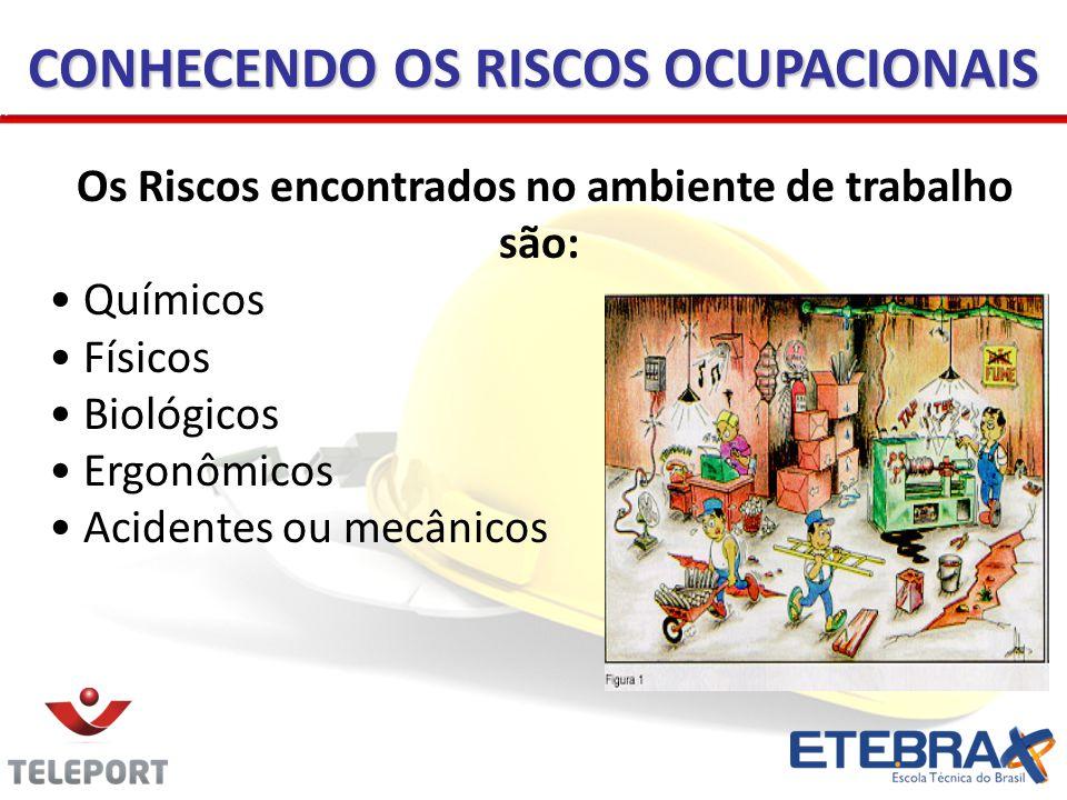 CONHECENDO OS RISCOS OCUPACIONAIS