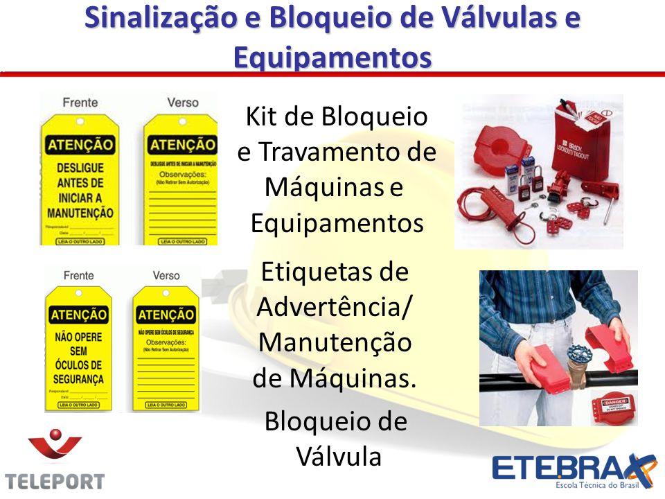 Sinalização e Bloqueio de Válvulas e Equipamentos