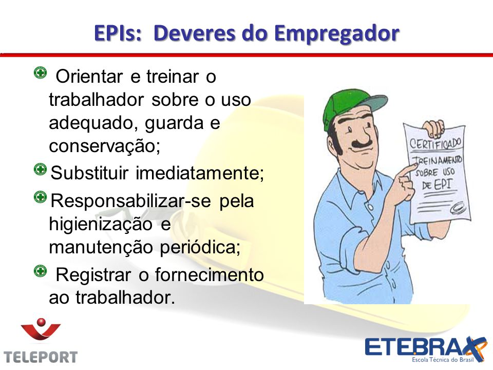 EPIs: Deveres do Empregador