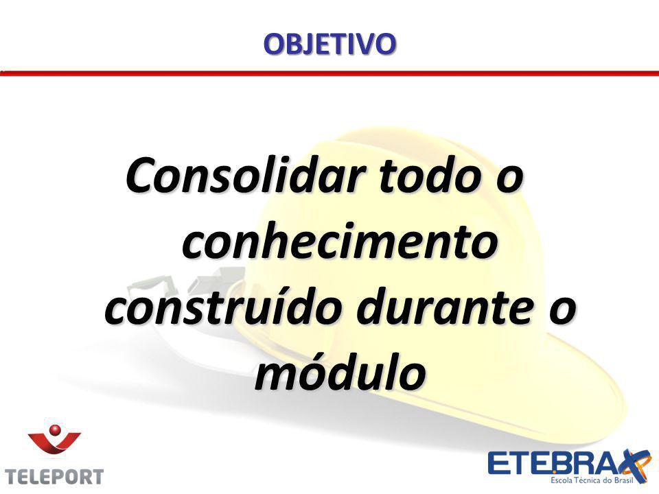 Consolidar todo o conhecimento construído durante o módulo