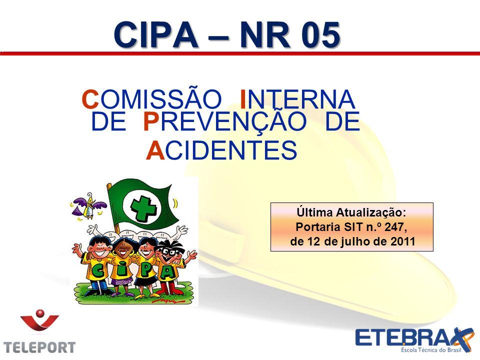 COMISSÃO INTERNA DE PREVENÇÃO DE