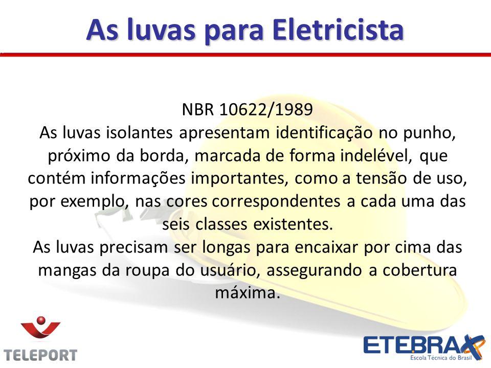 As luvas para Eletricista
