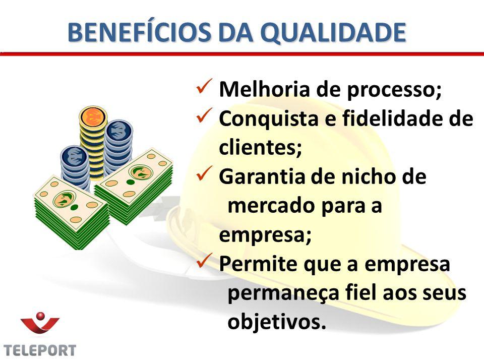 BENEFÍCIOS DA QUALIDADE