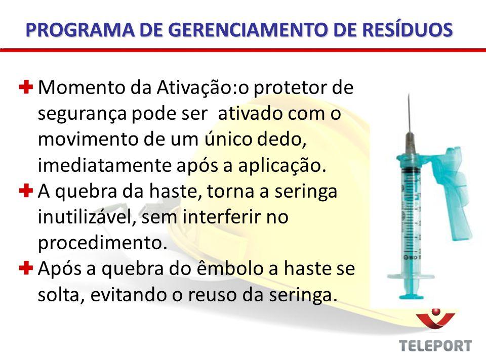 PROGRAMA DE GERENCIAMENTO DE RESÍDUOS