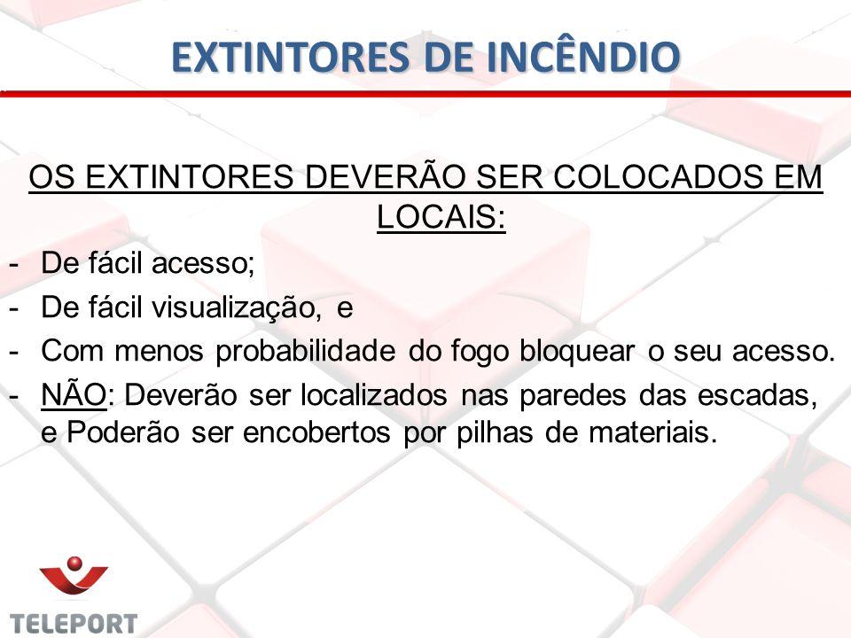 EXTINTORES DE INCÊNDIO