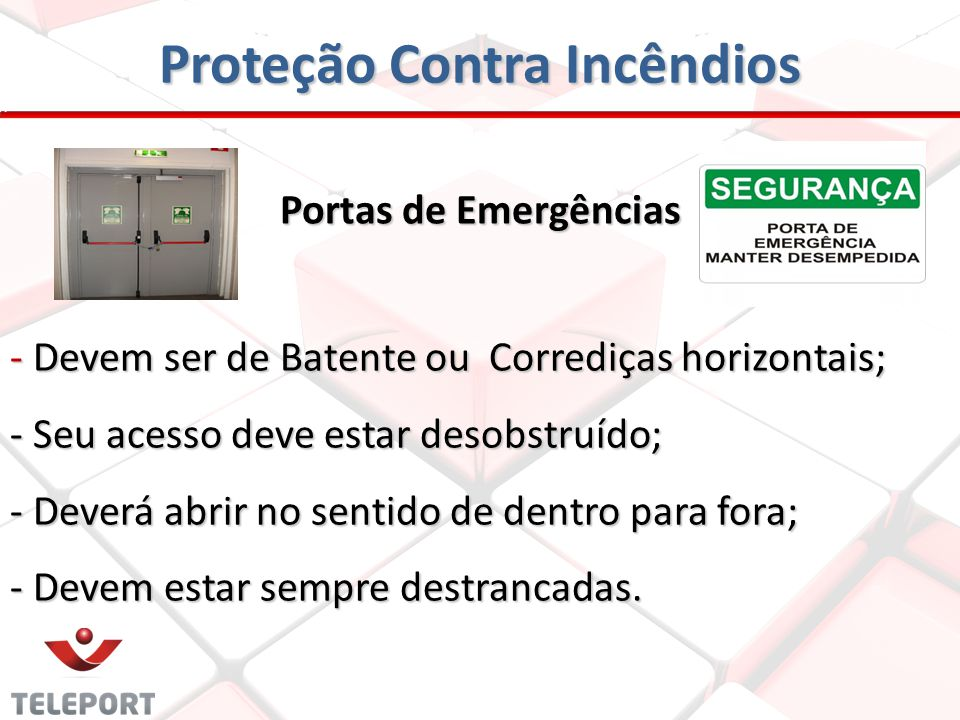 Proteção Contra Incêndios