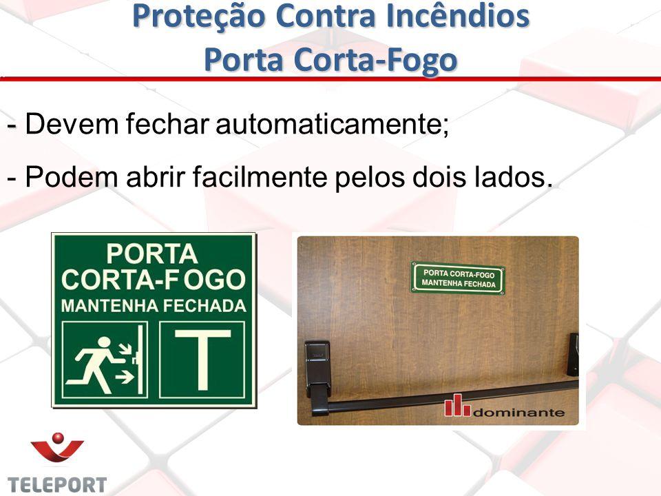Proteção Contra Incêndios Porta Corta-Fogo