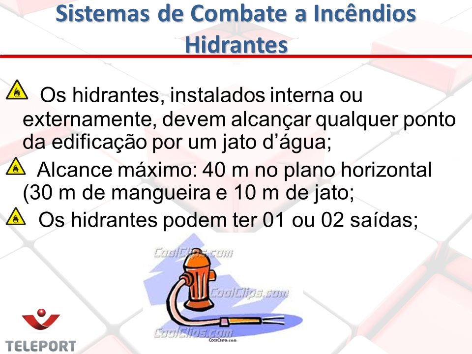 Sistemas de Combate a Incêndios Hidrantes
