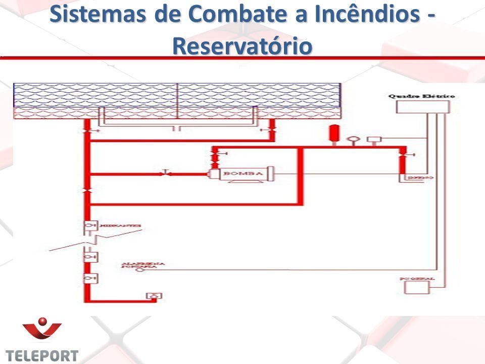 Sistemas de Combate a Incêndios - Reservatório