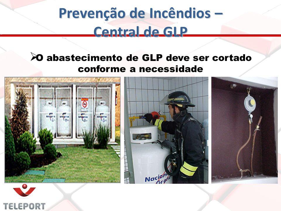 Prevenção de Incêndios – Central de GLP